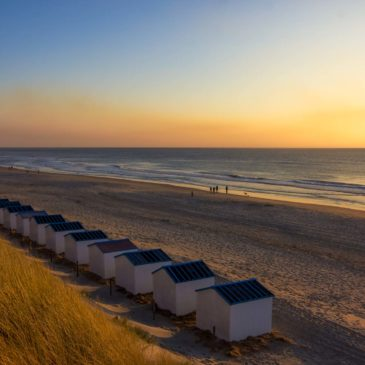 sunset in texel