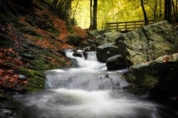 waterfalls in the Belgian Ardennes