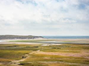 Texel seascape panorama